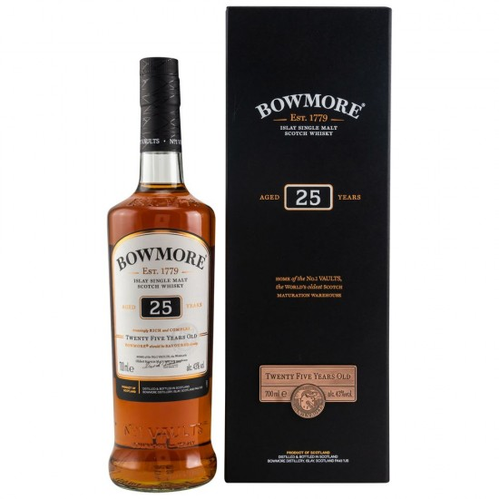 Bowmore 25 Jahre