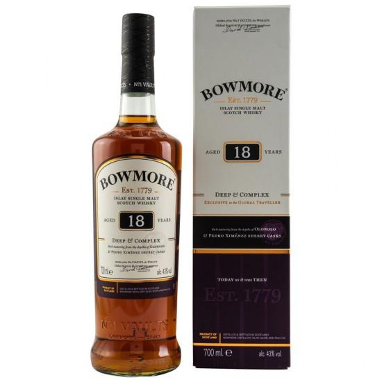 Bowmore 18 Jahre-0,70L