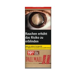 Pall Mall Authentic Tobacco Red XXL