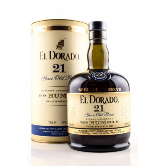 El Dorado 21 Jahre Rum