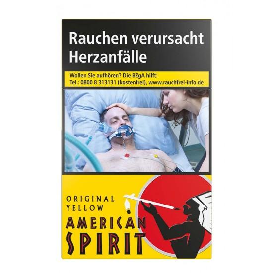 American Spirit Original Yellow
