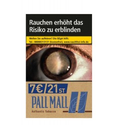 Pall Mall Authentic Blau L