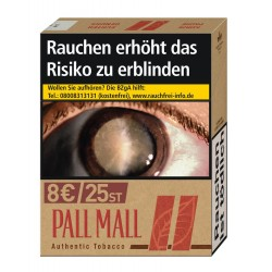 Pall Mall Authentic Rot XL