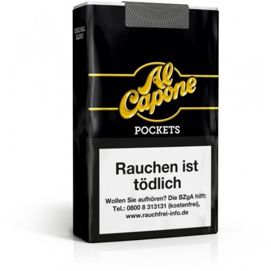Al Capone Pockets ohne Filter - 10er