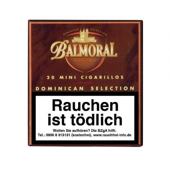 Balmoral Dominican Selection Mini Cigarillos 10 x 20