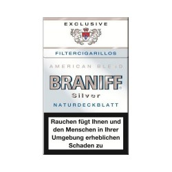 Braniff Naturdeckblatt Silver Filter 10