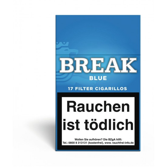 Break Blue Filter Zigarillos - 10
