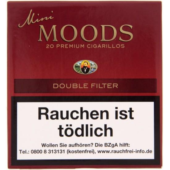 Dannemann Mini Moods Double Filter - 10er