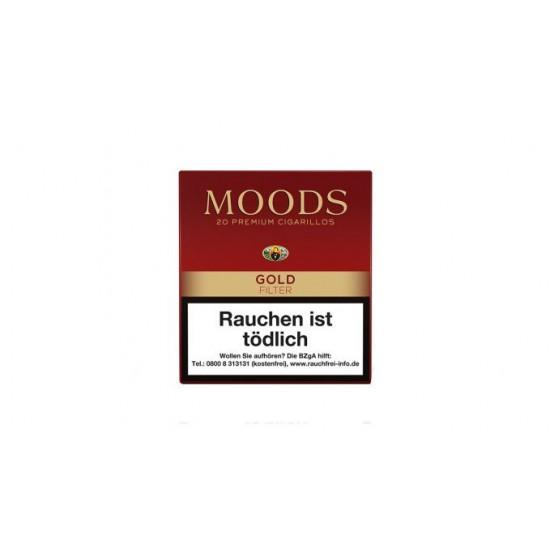 Dannemann Moods Filter Gold - 20er