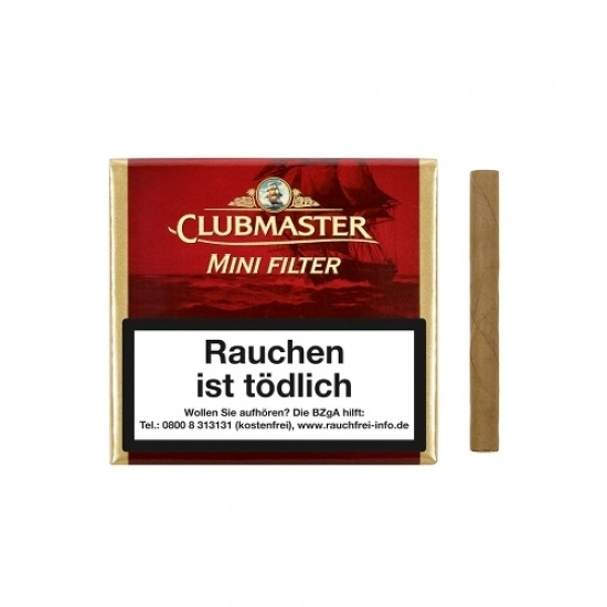 Clubmaster Mini Red Filter - 20er