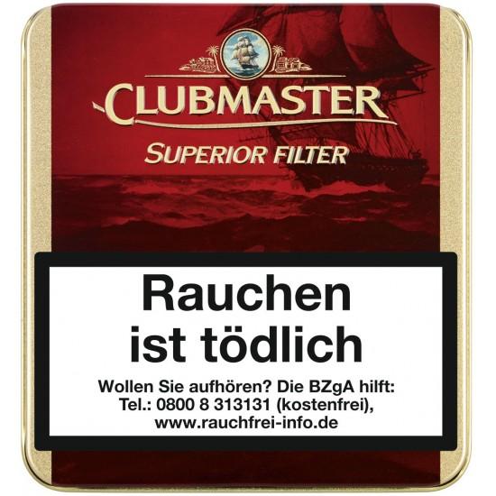 Clubmaster Superior Filter Red - 20er