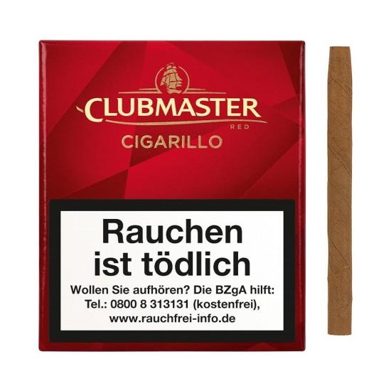 Clubmaster Cigarillo Red - 20er