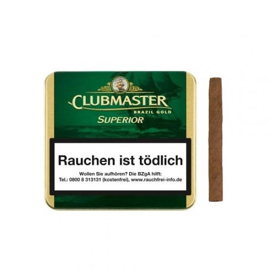 Clubmaster Superior Brasil Gold -20er