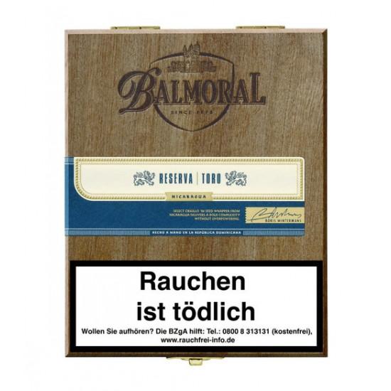 "Balmoral Royal Selection ""RESERVA"" Toro - 20er"
