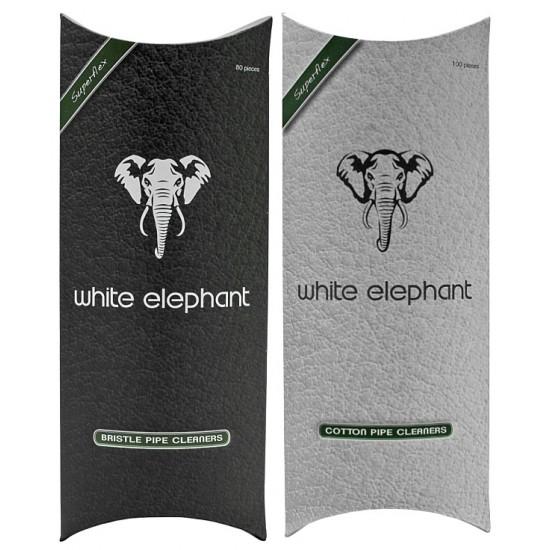 White Elephant 100 Pipe Cleaner Cotton/Bristle